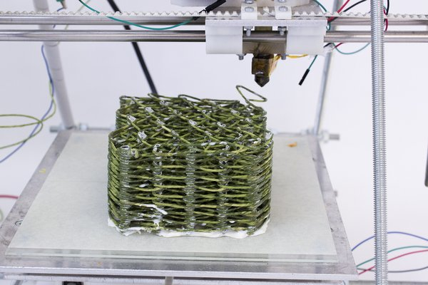 3D Printed woven structure