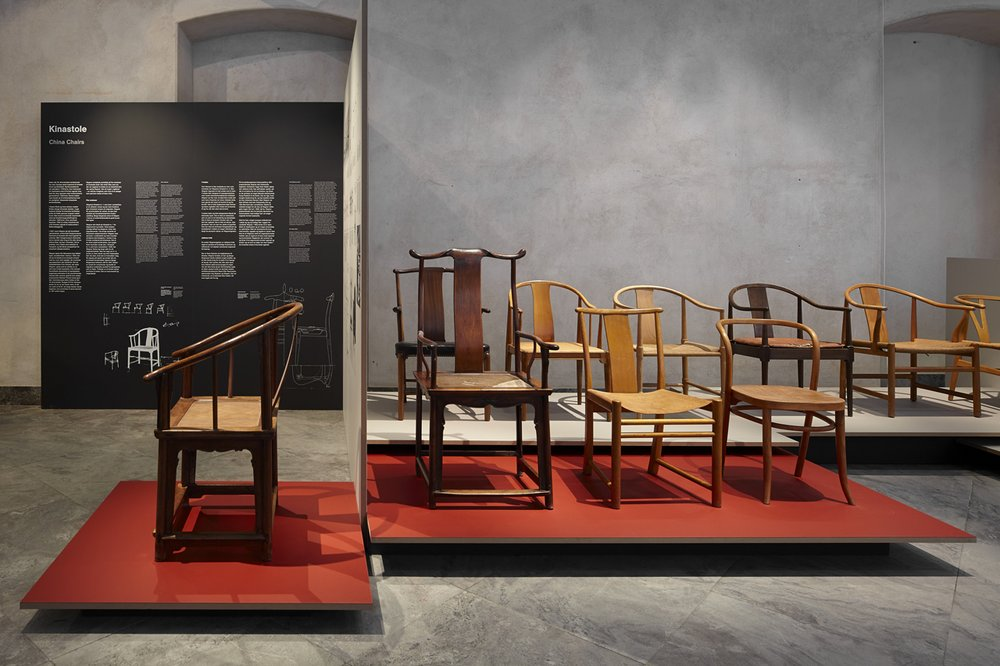 'Wegner: Just One Good Chair' Exhibition, featuring Hans Wegner's China Chairs and Ming Chairs