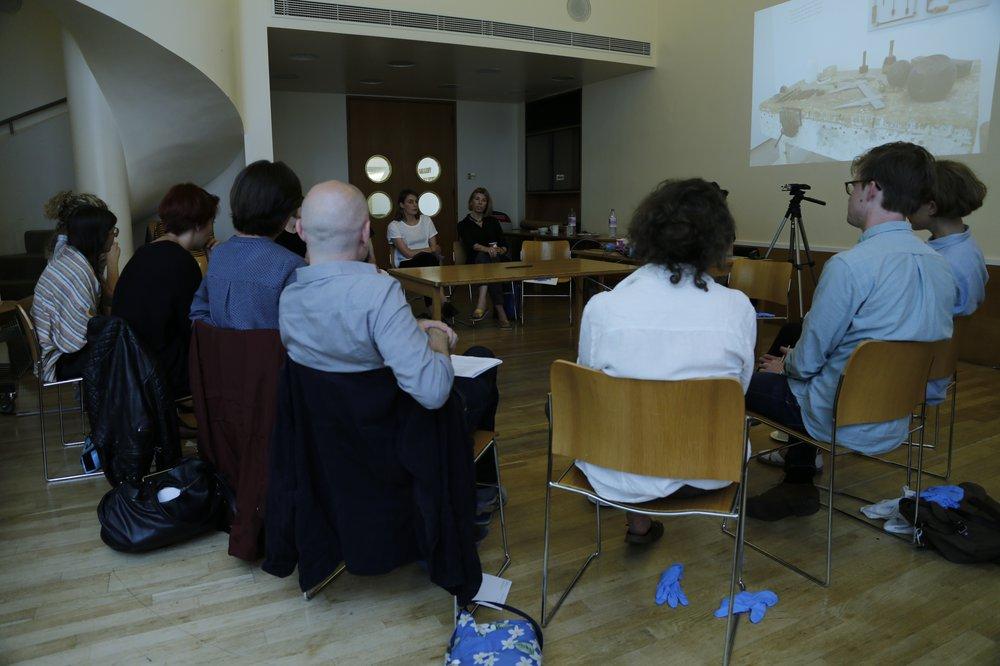 Hepworth's chisel research seminar, Tate Britain, London