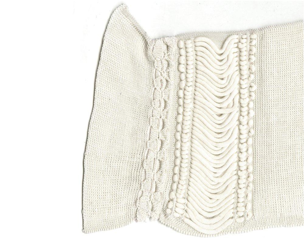 Fine Gauge Inlay knit