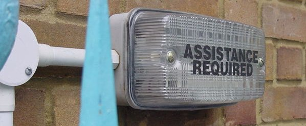 Assistance Required sign