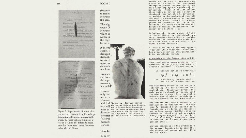 Archival Material , ICOM-CC, 1993