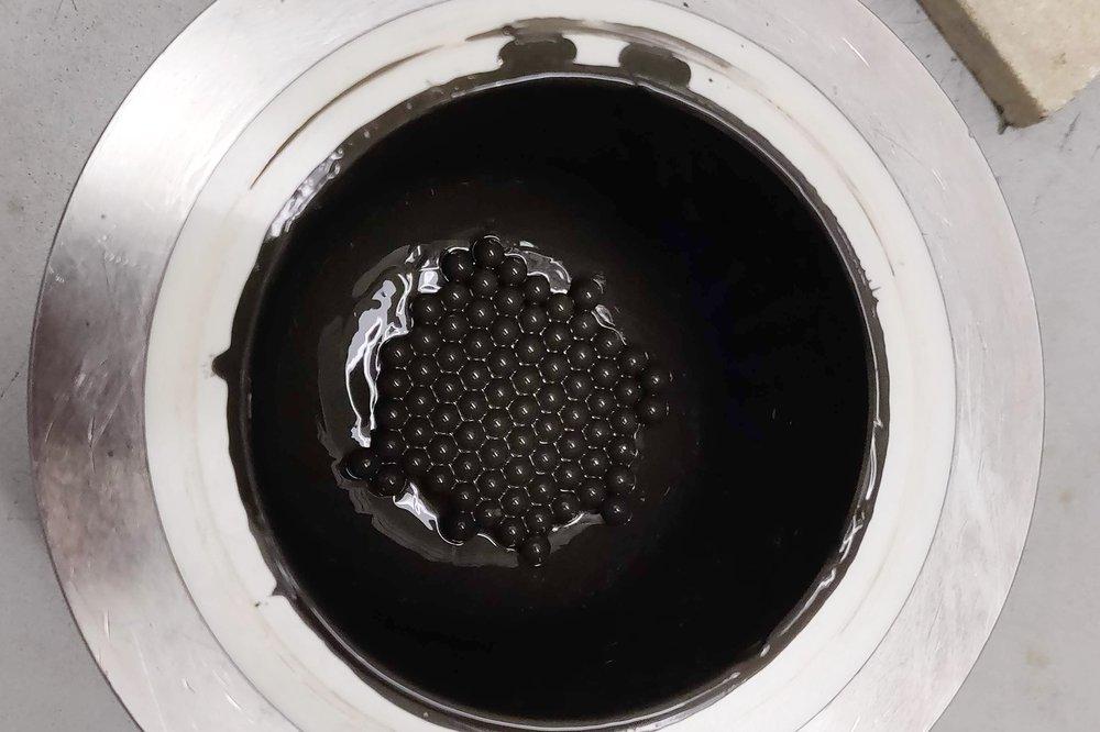 Ball Milling Pyrite Bearing waste
