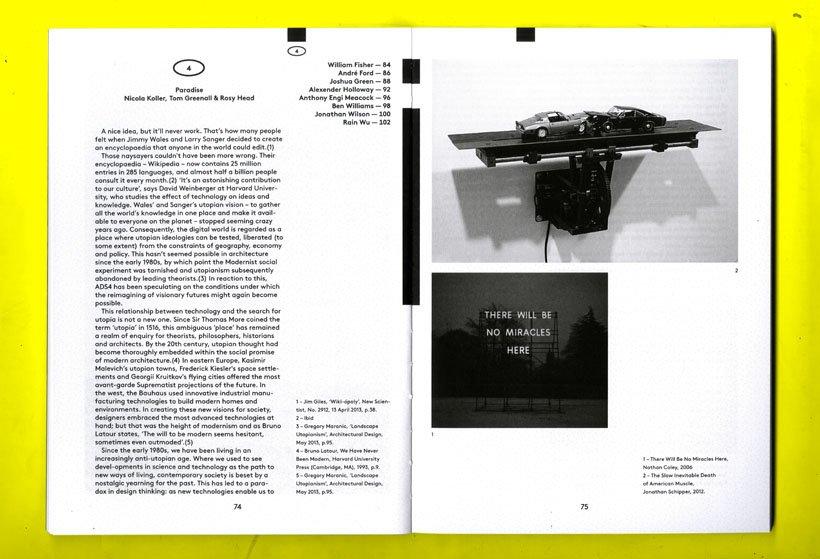 Architecture Annual 2013