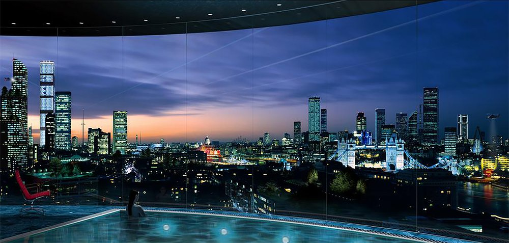 A possible future skyline for London