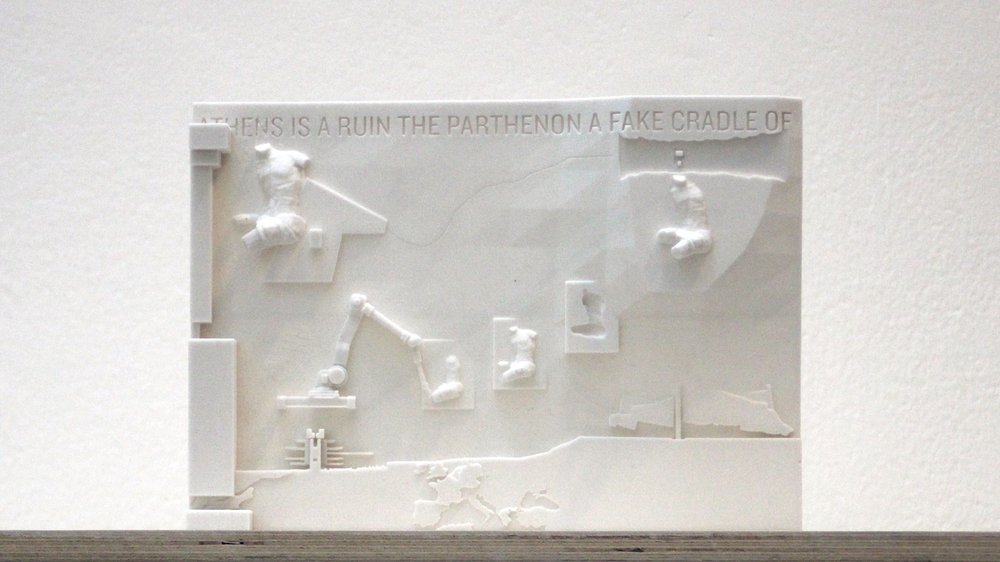 Prototype for the Frieze of the New Acropolis Bank