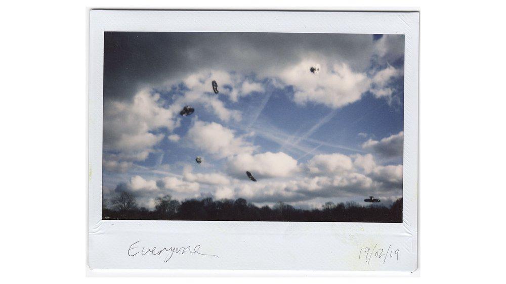 Mystery objects in Lewisham skies