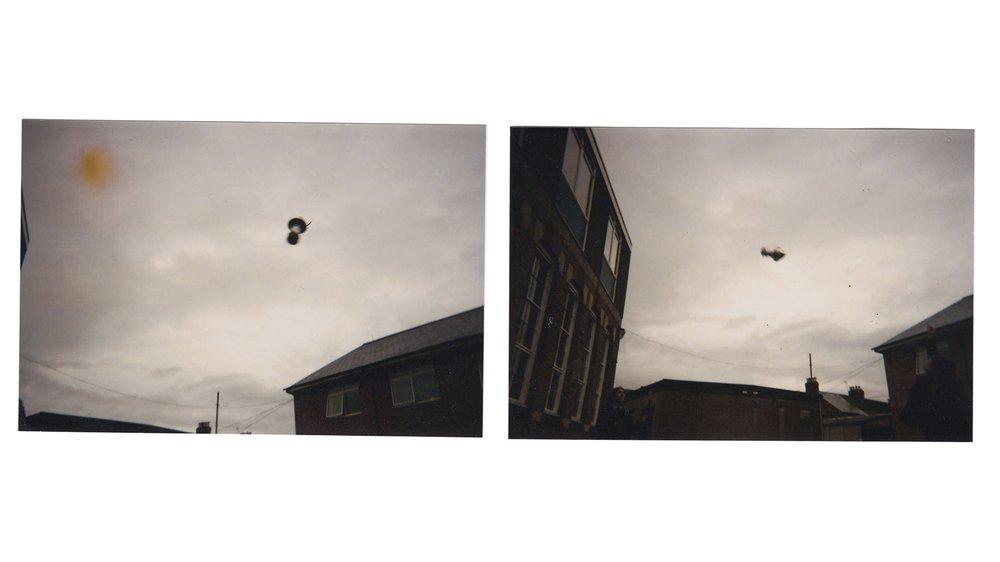 UFOs over Denmark Road, Gloucester