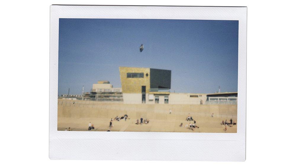 UFO over Blackpool Pleasure Beach