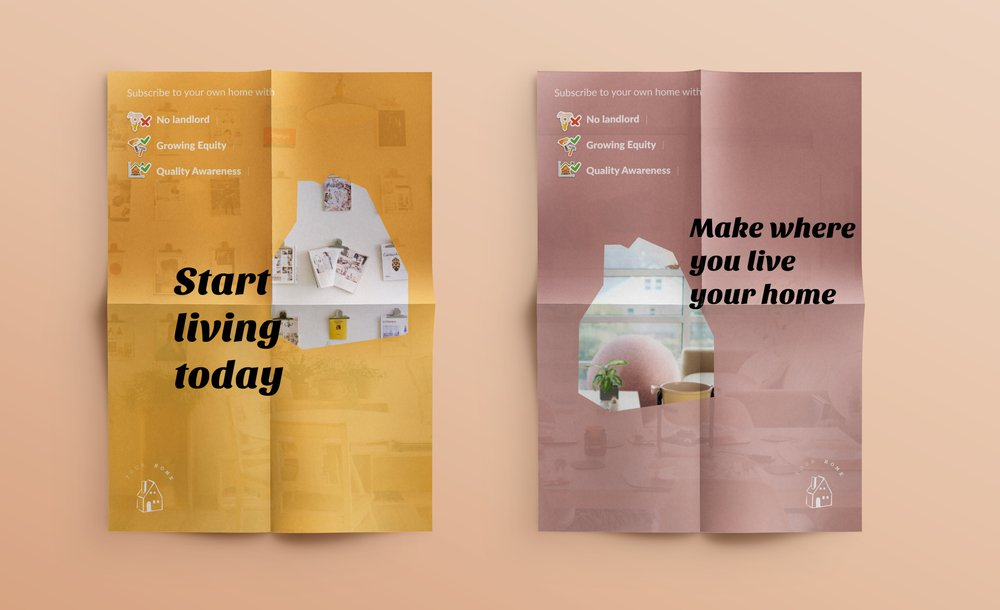 Your Home Platform posters
