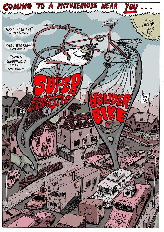 Super Fantastic Wonder Bike movie poster