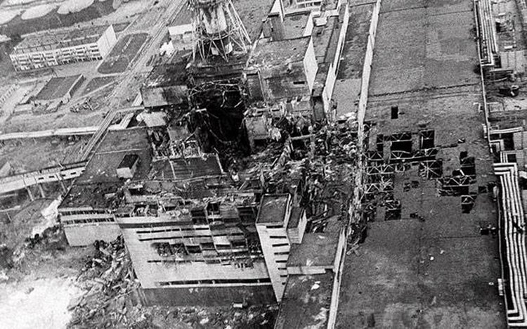 1986 nuclear accident at Chernobyl Nuclear Power Plant, Pripyat, Ukraine