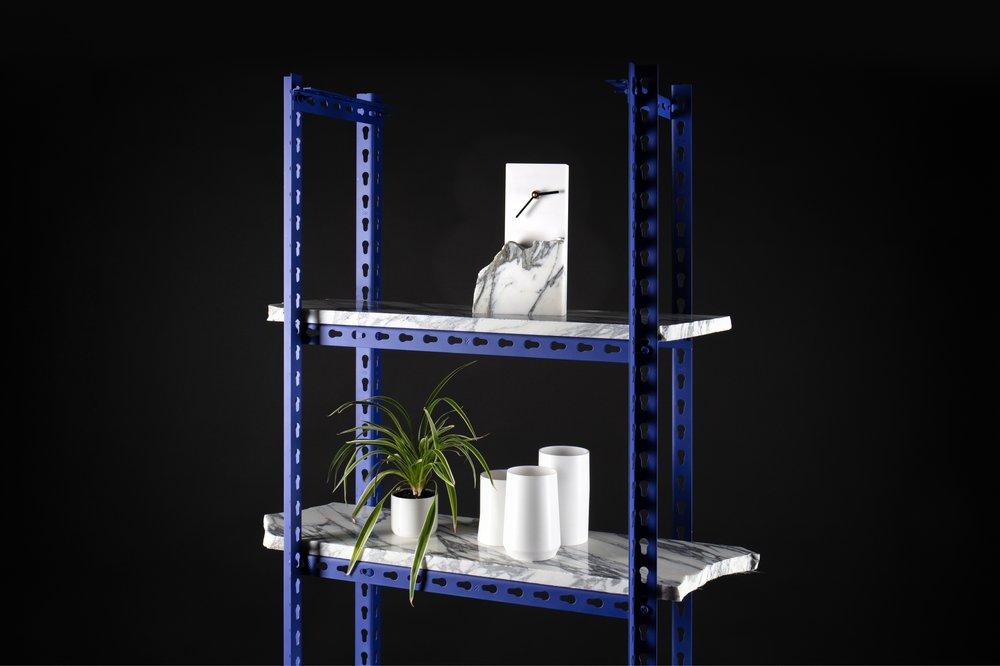 GoodWaste - Clock, Vases & Shelving Unit