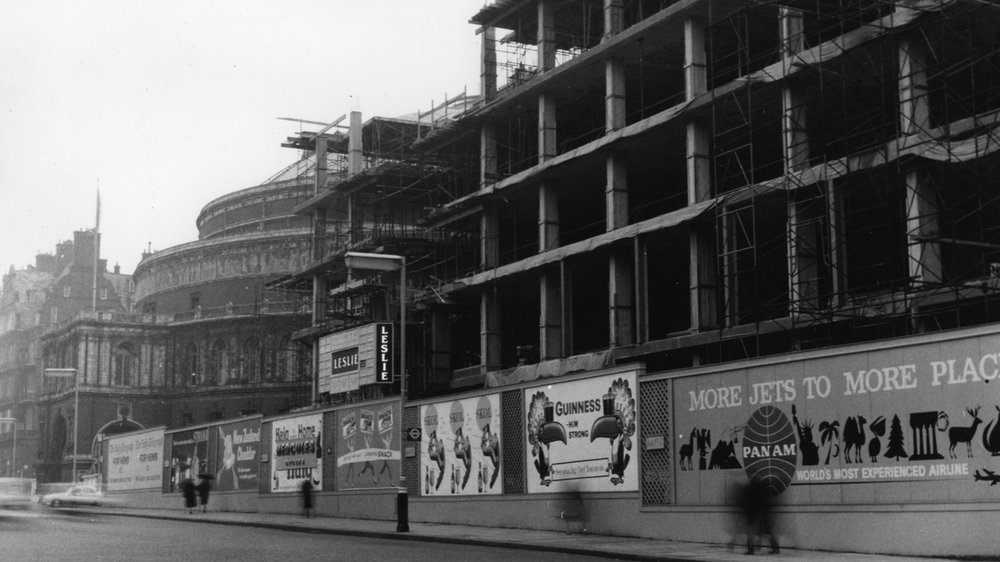 Construction of the Darwin Building