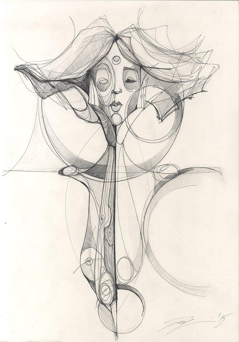 identite fragile(drawing no.3)