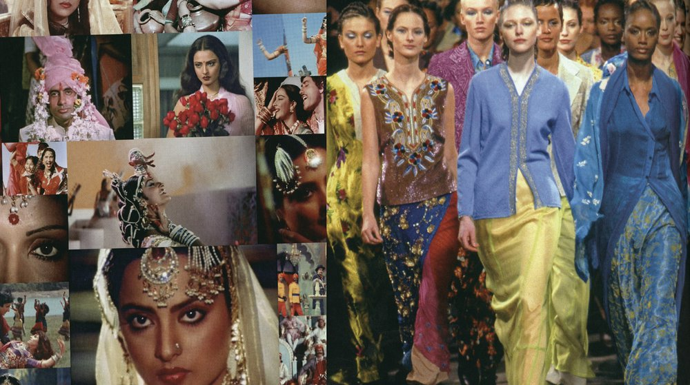 Dries Van Noten Bollywood Collection and Mood Board
