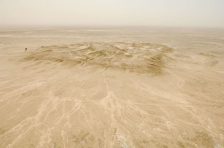 The City of Eridu, Iraq, 5400-600 BC, is an urban mirage in the Iraqi desert