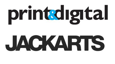 Supporter logos: Jack Arts and Print & Digital