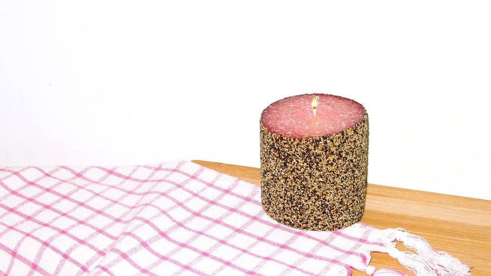 Salami Candle