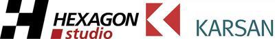 Hexagon Studio and Karsan logos