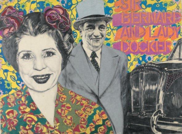 Sir Bernard and Lady Docker