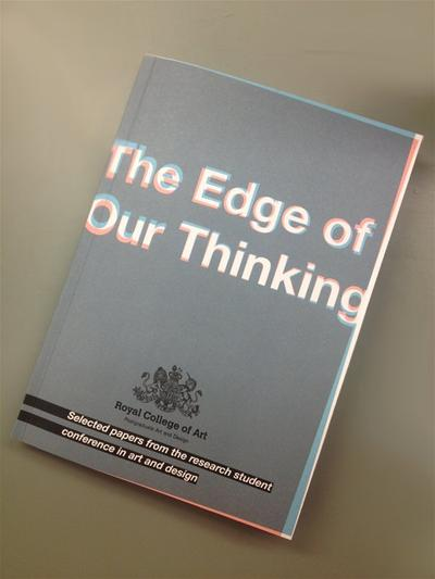 Student Research publication, The Edge of Our Thinking