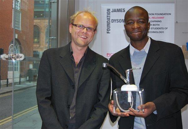 IDE graduates Yusuf Muhammad and Paul Thomas