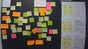 Ideas Concept Board at Number Ten Service Design Summit