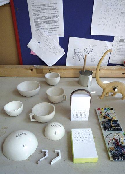 Musical Tableware and Radio Prototypes