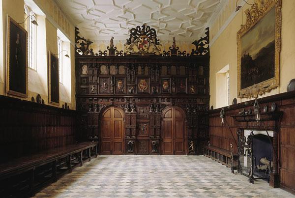 Great Hall at Knole, Sevenoaks, Kent