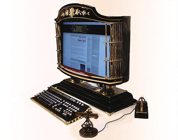 Steampunk All-In-One PC, Jake von Slatt