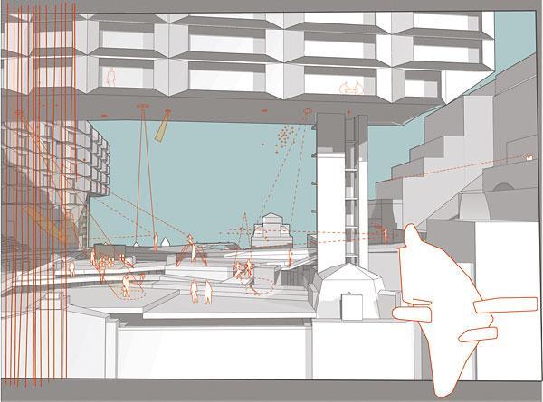 Augmented Urban Theatre-scape — View