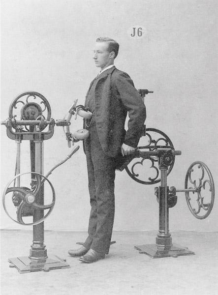 Gustaf Zander's Passive Abdominal Exerciser, c. 1892