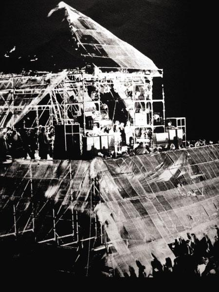 Pyramid Stage -  Glastonbury, 1971