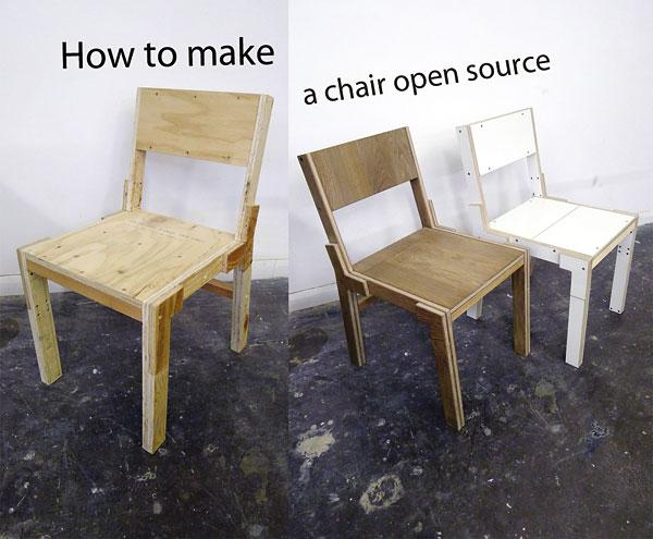 How to Make a Chair Open Source