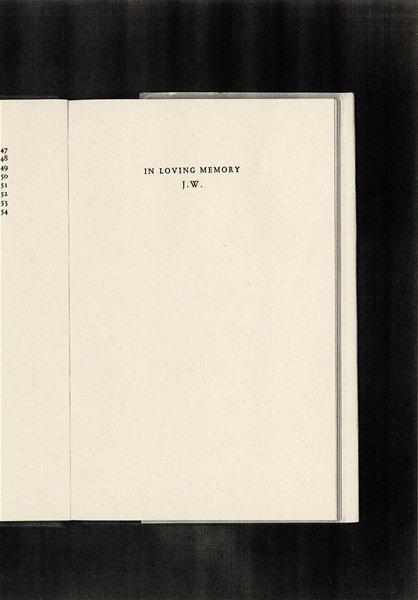 To The Space Between Things (The Book Dedications of The Saison Poetry Library)