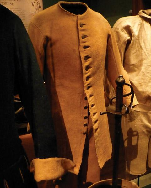 Sealed Patterns for a Swedish Soldier's Uniform, Model 1756
