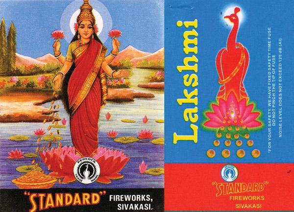 Lakshmi Cracker Labels