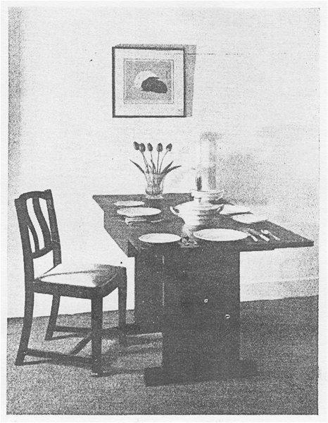A Print by Yoshijiro Urushibara featured in Ideal Home Magazine, 1924