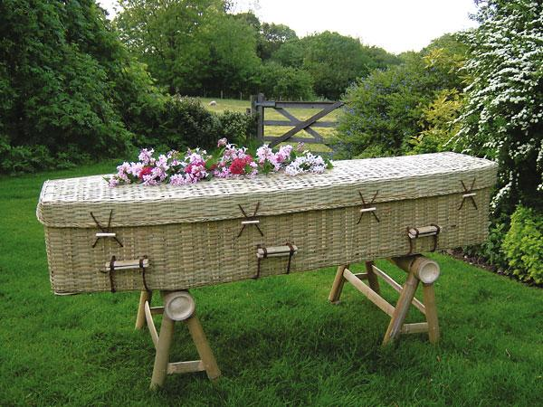 Bamboo Coffin (image by William Wainman)