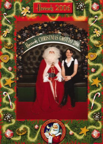 Annual Portrait with Santa: Christmas Eve 2007