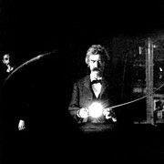 Mark Twain In Nikola Tesla's Lab
