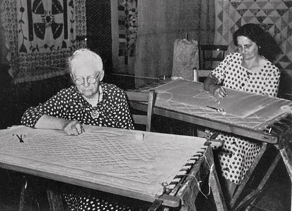 Welsh Quilting Exhibition Held at St Fagans: Welsh Folk Museum, 1951