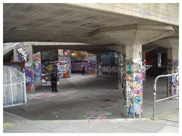 South Bank Centre Undercroft