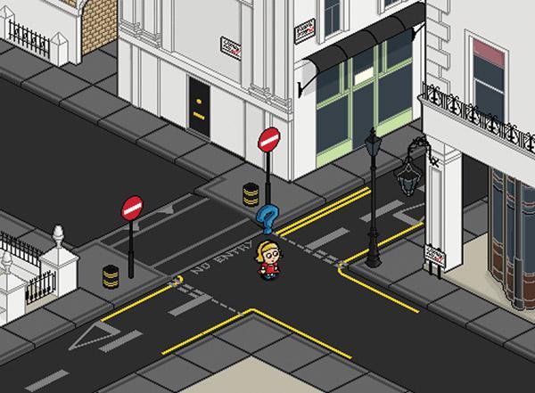 Discreet Urban Navigation