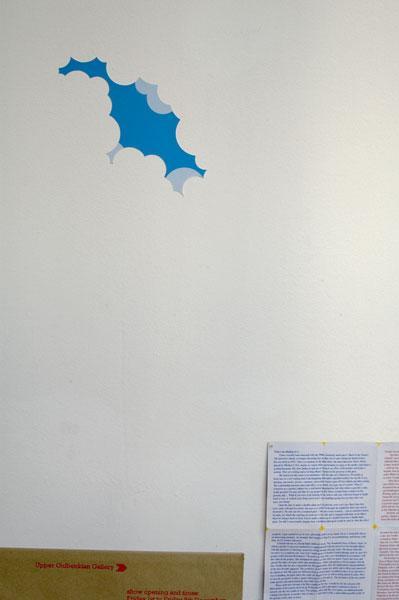 Cloudy Sky Stickers with Filip Tydén and Works by Mia Frostner, Robert Sollis, Paul Tisdell & Rasmus Troelsen
