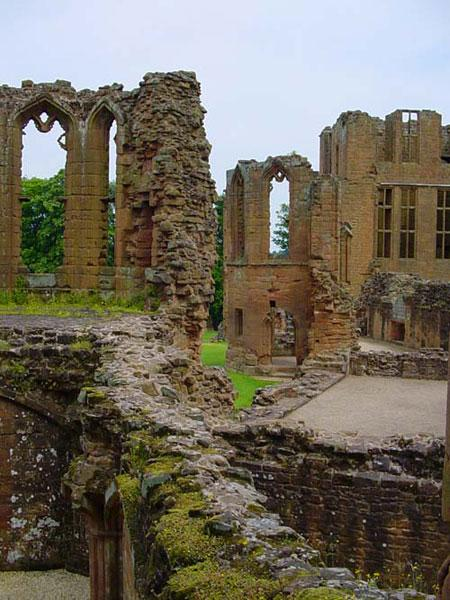 The Ruins of Kenilworth Castle in Warwickshire Visited Most Famously by Queen Elizabeth I in 1575