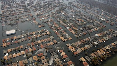 Hurricane Katrina, Flooded Houses