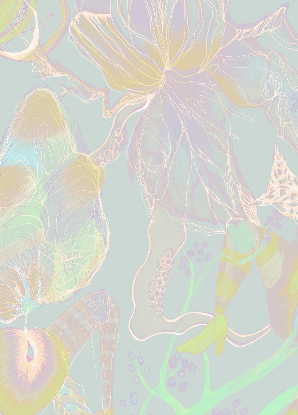 Morbid Fairy Tale Wallpaper