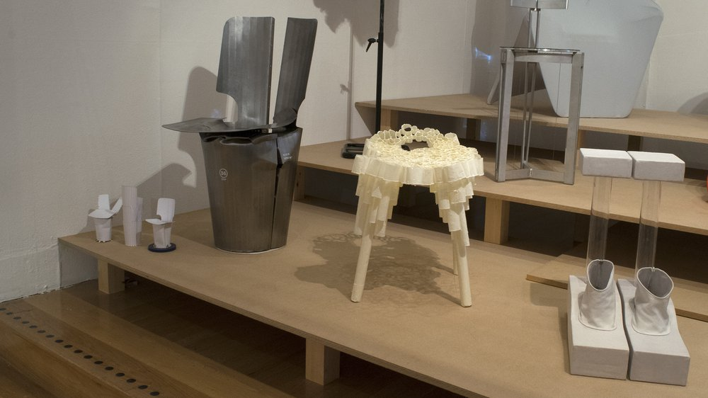School of Design Work-in-progress Show: Supaform chairs by Innovation Design Engineering